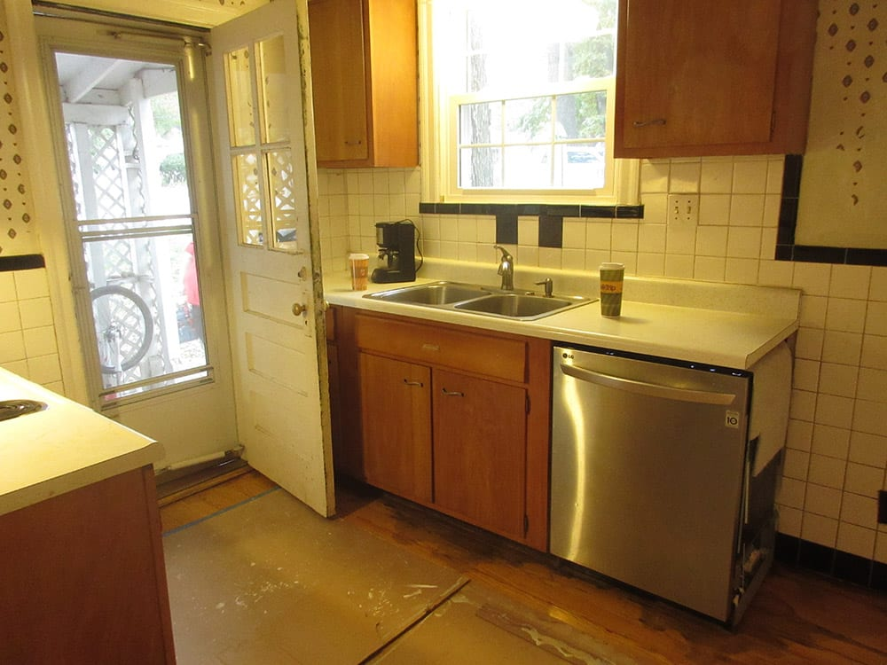 small kitchen renovation before images