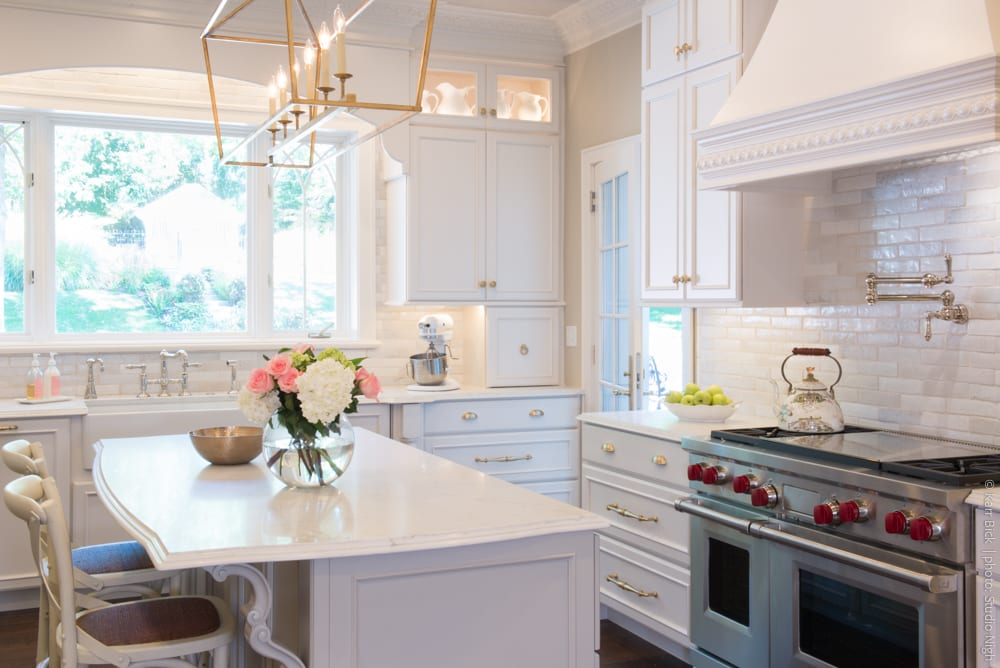 Before + After Colonial Kitchen Renovation - Karr Bick Kitchen & Bath
