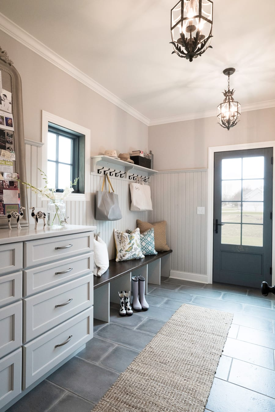 Dress Up Your Mudroom With Light Fixtures That Have An Unexpected Formality Don T Forget Outdoor Lighting As Well Nothing Is Quite Welcoming